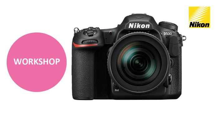 Přijďte na workshop Nikon a otestujte si profesionální novinku D500