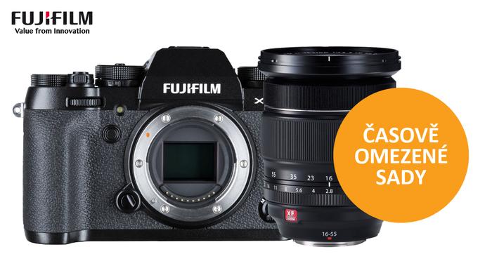 Pořiďte si novinku Fujifilm X-T2 v časově omezených sadách a ušetřete až 10 080 Kč