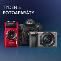 Slevy až 3 700 Kč na vybrané fotoaparáty a navíc hodnotný dárek k nákupu!