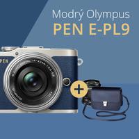 Olympus PEN E-PL9 s objektivem a brašnou zdarma jen do konce září!