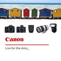 Nakupte techniku Canon a získejte cashback až 7 700 Kč