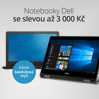 Akční snížení cen notebooků Dell a dárek k tomu