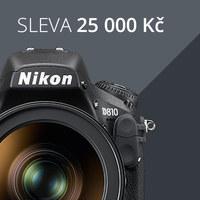 SLEVA až 25 000 Kč na Nikon D810 + sety!