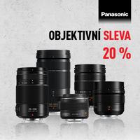 Sleva 20 % na vybrané objektivy od Panasonicu