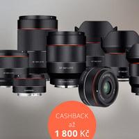 Samyang AF cashback až 1 800 Kč