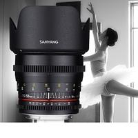 Samyang představil objektivy 50mm f/1,4 UMC a 50mm T1,5 AS UMC pro video