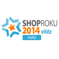 Megapixel získal ocenění Shop roku 2014 v kategorii Foto!