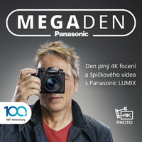 Přijďte tuto sobotu na MEGAden Panasonic