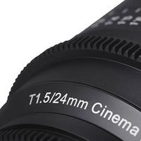 Samyang představil první skutečně filmařské objektivy
