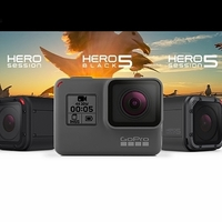 Nové kamery GoPro HERO5 už nepotřebují vodotěsné pouzdro