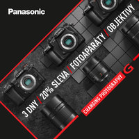 Exkluzivní nabídka na vybrané produkty PANASONIC!