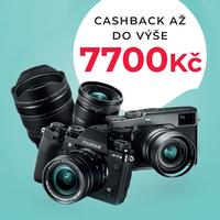 Fujifilm cashback až 7 700 Kč