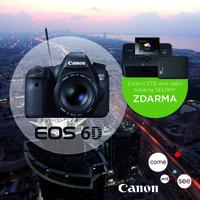 Kupte fotoaparát Canon EOS 6D a vyberte si hodnotný dárek.