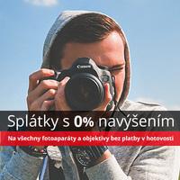 Nakupte výhodně fotoaparáty a objektivy na splátky bez navýšení! Platí pouze do konce března