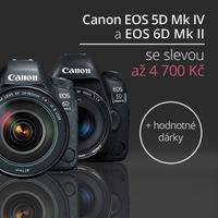 Zachyťte atmosféru jara s fotoaparáty Canon, které jsou až o 4 700 Kč levnější!