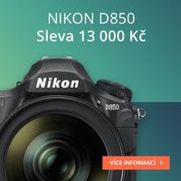 Ušetřete 13 000 Kč při nákupu Nikon D850