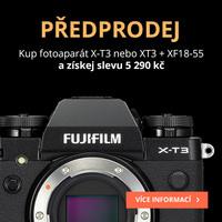 Předobjednejte si Fujifilm X-T3 a získejte slevu 5 290 Kč