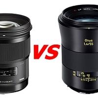 Porovnání objektivu Sigma 50/1,4 ART a Zeiss Otus 55/1,4