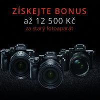 Získejte bonus při nákupu Sony Alpha až 12 500 Kč!