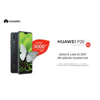 Získejte 3 000 Kč zpět při nákupu špičkového fotomobilu Huawei P20