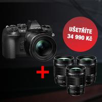 Foťte jako profík! K fotoaparátům Olympus E-M II dostanete špičkový PRO objektiv f/1,2 zdarma!