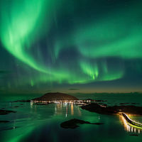 Barevná hra v oblacích aneb Jak se fotí polární záře v podání Ole Salomonsena