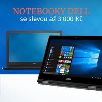Poslední šance k nákupu notebooků Dell za výprodejové ceny