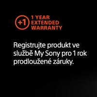 Registrujte se u Sony a získejte prodlouženou záruku na vaši techniku