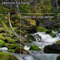 Výhody velkých a malých snímačů při focení krajiny