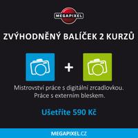 Zvýhodněný balíček dvou kurzů pro pokročilé fotografy