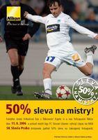 50 % sleva na Nikon!