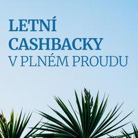 Top 5 produktů letních cashbacků, pořiďte si novou výbavu za nejlepší ceny