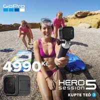 GoPro Session nyní za pouhých 4 990 Kč!