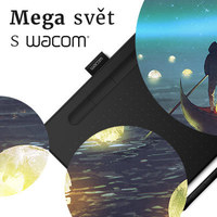 Připomínáme ilustrátorskou soutěž MEGA SVĚT s tablety Wacom