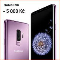 Ušetřete 5 000 Kč při nákupu Samsung Galaxy S9 a S9+