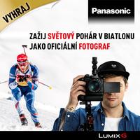 Staňte se oficiálním fotografem Světového poháru v biatlonu s Panasonicem