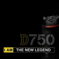 Porovnejte vaši zrcadlovku s Nikonem D750