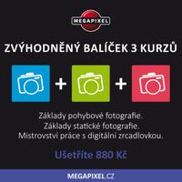 Zvýhodněný balíček tří kurzů pro pokročilé fotografy