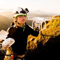 Létání s drony na Kokořínsku s Petrem Janem Juračkou