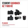 Využijte studentský cashback Canon