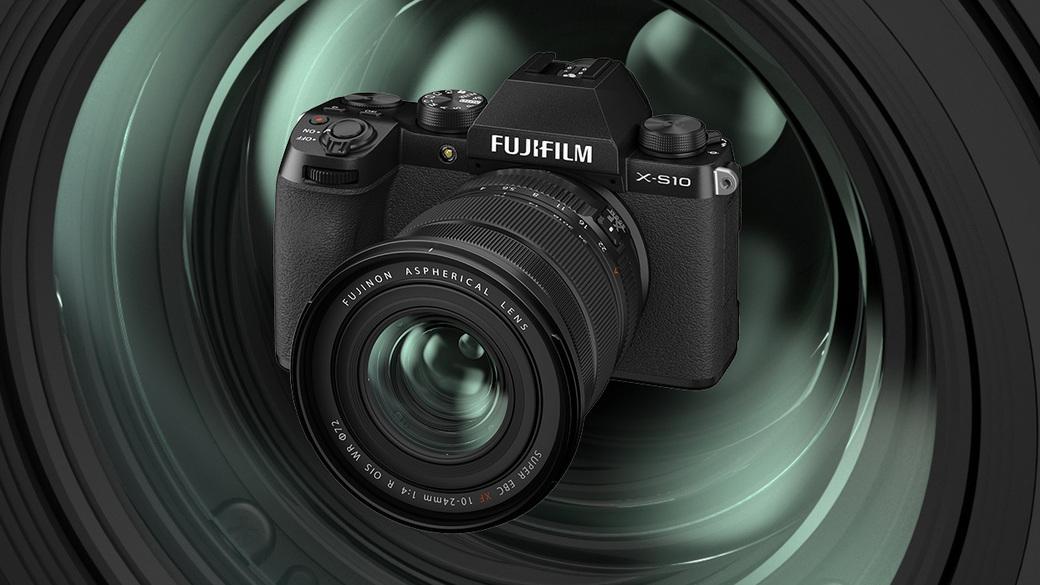Vítáme novinky Fujifilm! Fotoaparát X-S10 a objektiv XF 10-24 mm