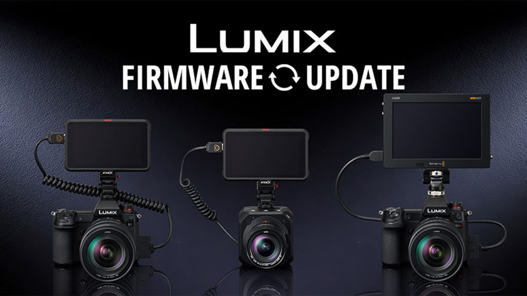 Vylepšete své fotoaparáty Panasonic S1H, S5, S1 a BGH1 novým firmware