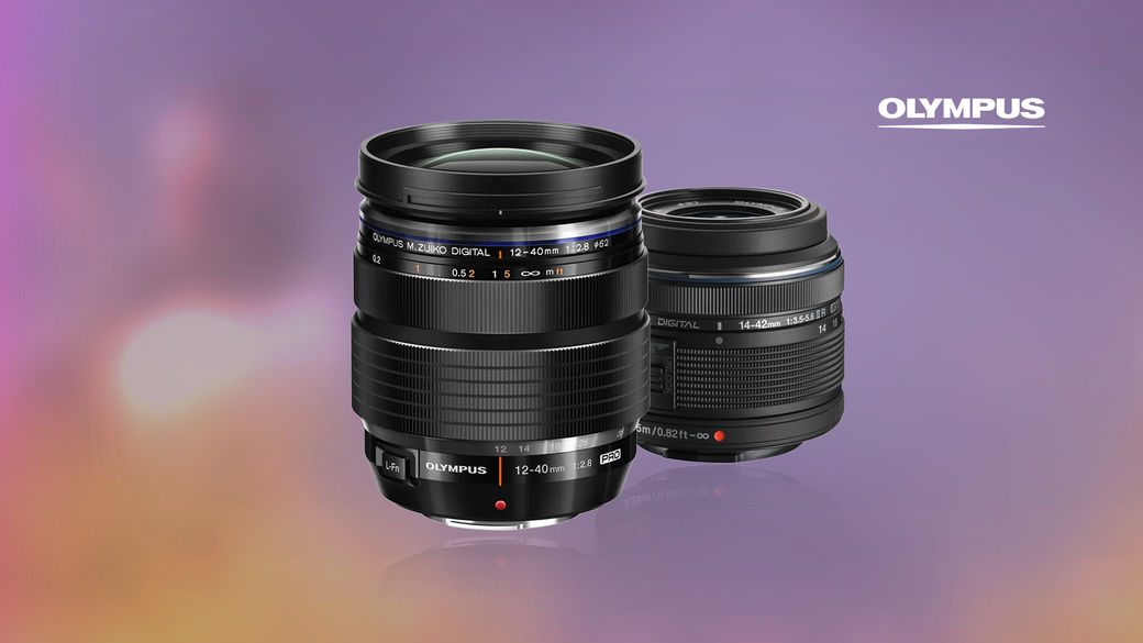 Pořiďte si univerzální objektivy Olympus 12-40 mm nebo 14-42 mm a ušetřete až 5 100 Kč