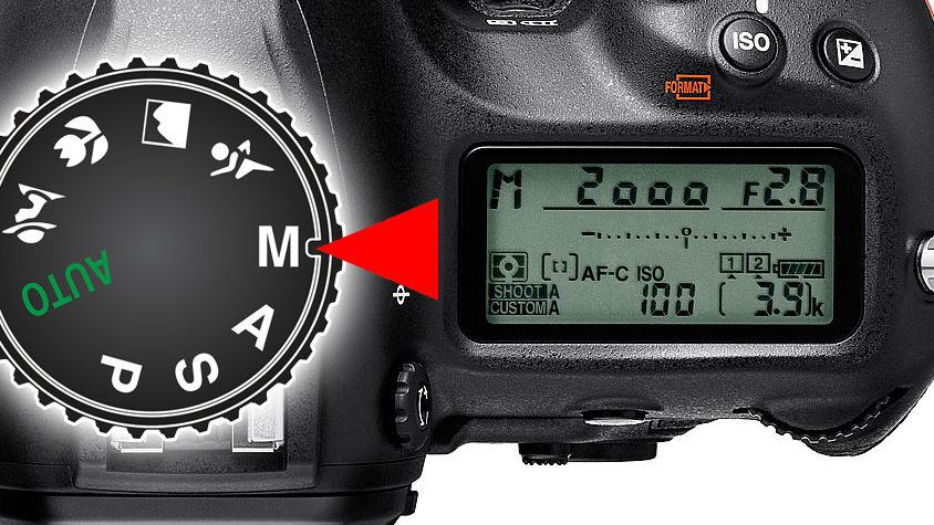 Jak fotit digitální zrcadlovkou (DSLR) a bezzrcadlovkou: 15. díl - MANUÁLNÍ REŽIM