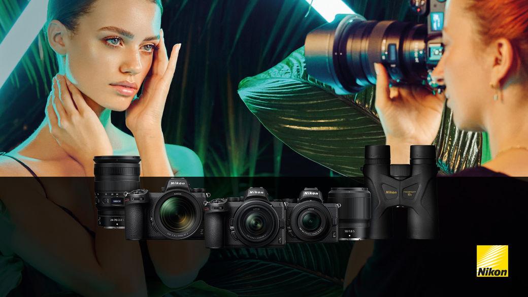 Ušetřete s Nikonem až 10 800 Kč