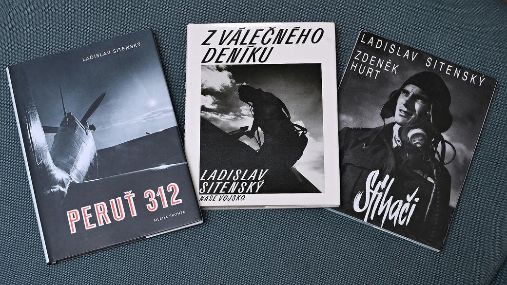 Fotopublikace č.3 : Stíhači a 312. peruť z válečného deníku Ladislava Sitenského