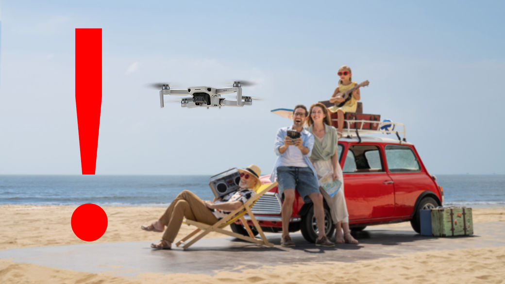Nová pravidla pro létání s drony od 31. 12. 2020