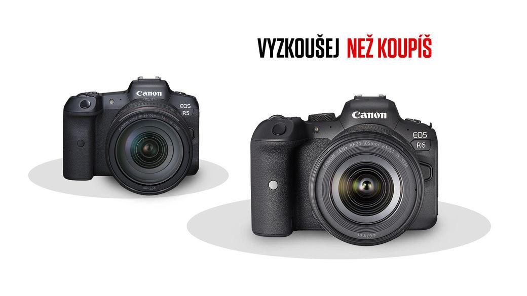 Půjčíme vám nový Canon R5 nebo R6