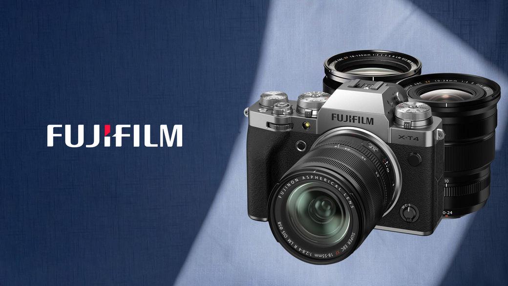 Využijte výjimečné slevy až 9 000 Kč na Fujifilm X-T4 a vybrané objektivy