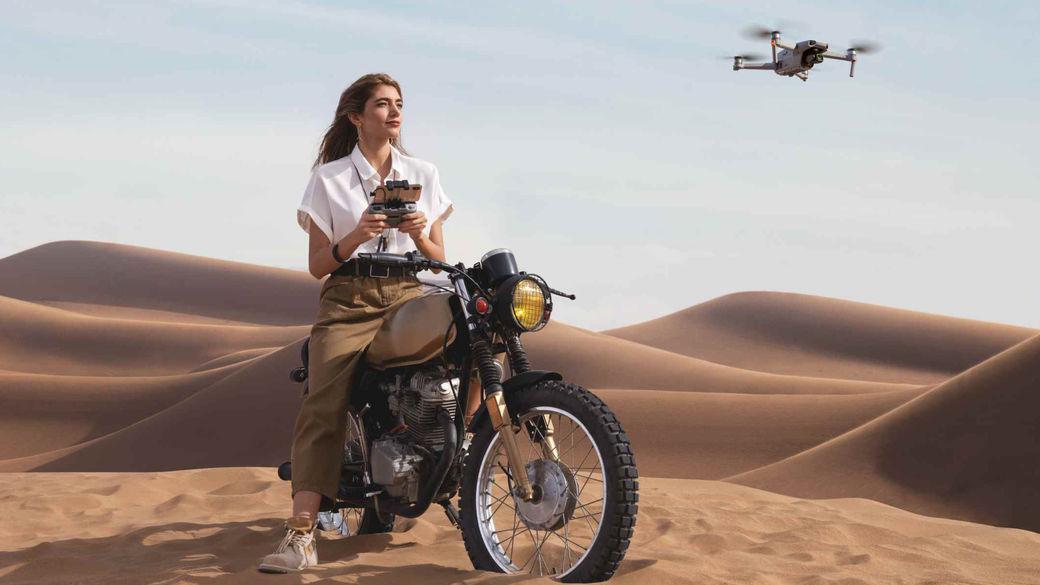 Nový DJI Mavic Air 2 má větší snímač, 48Mpx fotky, 4K 60p i 8K Hyperlapse video
